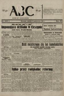 ABC : nowiny codzienne. 1938, nr307 A