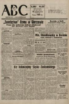 ABC : nowiny codzienne. 1938, nr308 A