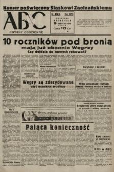ABC : nowiny codzienne. 1938, nr310 A