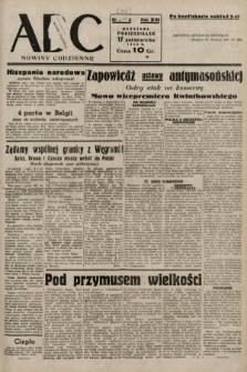 ABC : nowiny codzienne. 1938, nr312 A [ocenzurowany]