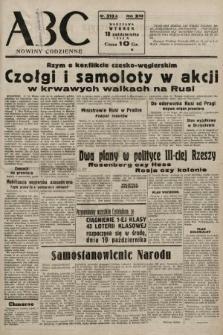 ABC : nowiny codzienne. 1938, nr313 A
