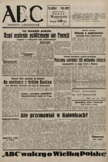 ABC : nowiny codzienne. 1938, nr314 A
