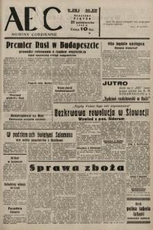 ABC : nowiny codzienne. 1938, nr316 A