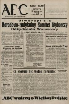 ABC : nowiny codzienne. 1938, nr317 A