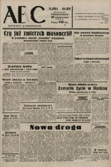 ABC : nowiny codzienne. 1938, nr319 A