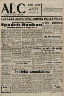 ABC : nowiny codzienne. 1938, nr321 A