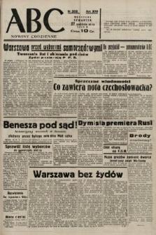 ABC : nowiny codzienne. 1938, nr322 A