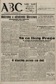 ABC : nowiny codzienne. 1938, nr323 A