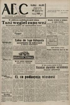 ABC : nowiny codzienne. 1938, nr324 A