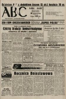 ABC : nowiny codzienne. 1938, nr325 A