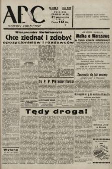 ABC : nowiny codzienne. 1938, nr326 A