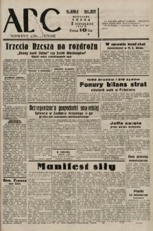 ABC : nowiny codzienne. 1938, nr328 A