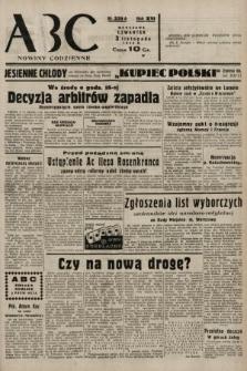 ABC : nowiny codzienne. 1938, nr329 A