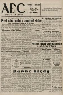 ABC : nowiny codzienne. 1938, nr330 A