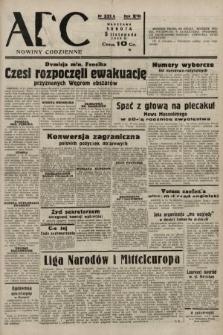 ABC : nowiny codzienne. 1938, nr331 A