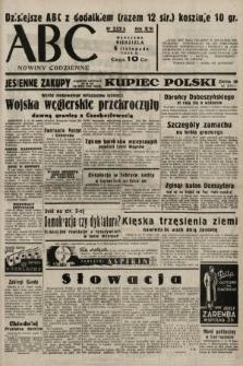 ABC : nowiny codzienne. 1938, nr332 A