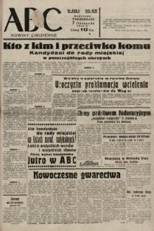 ABC : nowiny codzienne. 1938, nr333 A