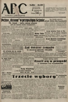 ABC : nowiny codzienne. 1938, nr334 A