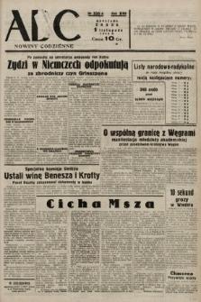 ABC : nowiny codzienne. 1938, nr335 A