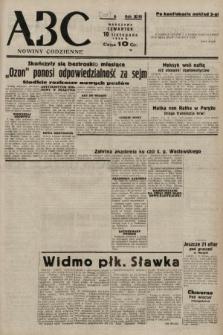 ABC : nowiny codzienne. 1938, nr337 A [ocenzurowany]
