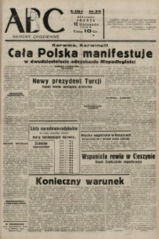 ABC : nowiny codzienne. 1938, nr339 A