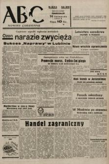 ABC : nowiny codzienne. 1938, nr341 A