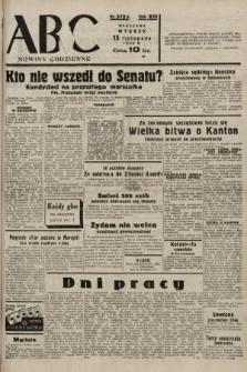 ABC : nowiny codzienne. 1938, nr342 A
