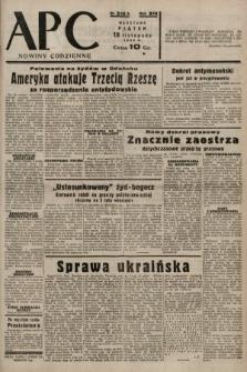 ABC : nowiny codzienne. 1938, nr346 A