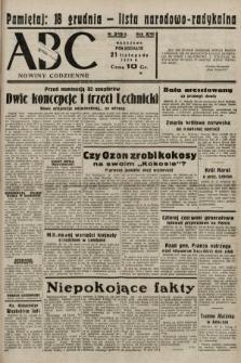 ABC : nowiny codzienne. 1938, nr349 A