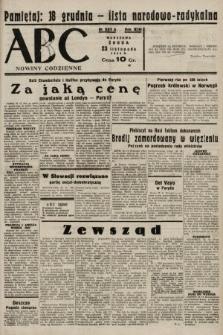 ABC : nowiny codzienne. 1938, nr351 A