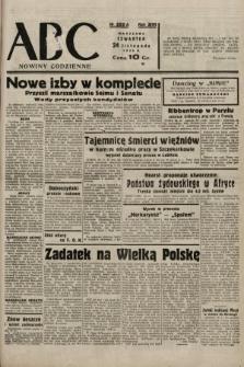 ABC : nowiny codzienne. 1938, nr352 A