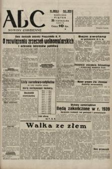 ABC : nowiny codzienne. 1938, nr353 A