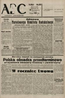 ABC : nowiny codzienne. 1938, nr354 A