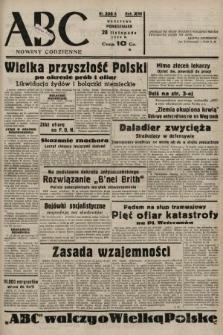 ABC : nowiny codzienne. 1938, nr356 A