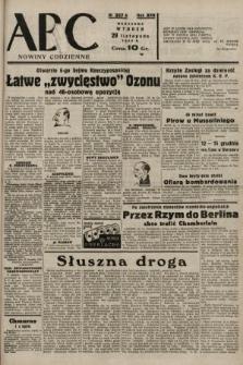 ABC : nowiny codzienne. 1938, nr357 A