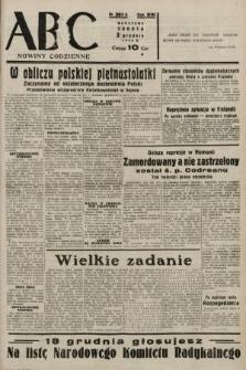 ABC : nowiny codzienne. 1938, nr361 A