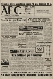 ABC : nowiny codzienne. 1938, nr362 A