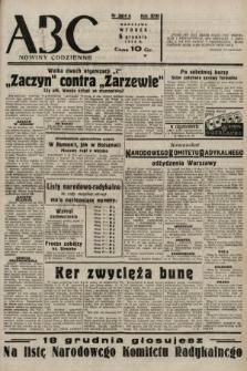 ABC : nowiny codzienne. 1938, nr364 A