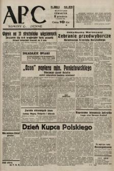 ABC : nowiny codzienne. 1938, nr366 A