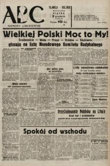 ABC : nowiny codzienne. 1938, nr367 A