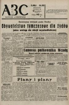 ABC : nowiny codzienne. 1938, nr369 A