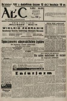 ABC : nowiny codzienne. 1938, nr370 A