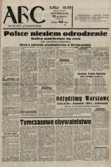 ABC : nowiny codzienne. 1938, nr371 A
