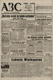 ABC : nowiny codzienne. 1938, nr372 A