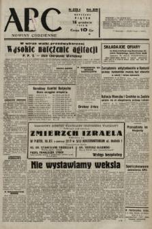 ABC : nowiny codzienne. 1938, nr375 A