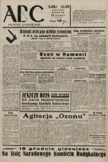 ABC : nowiny codzienne. 1938, nr376 A
