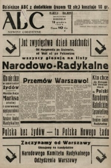 ABC : nowiny codzienne. 1938, nr377 A
