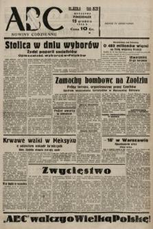 ABC : nowiny codzienne. 1938, nr379 A