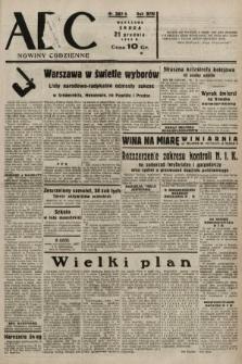 ABC : nowiny codzienne. 1938, nr381 A