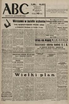 ABC : nowiny codzienne. 1938, nr382 A